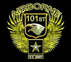 U s army 101st airborne eagle wings wall window vinyl for 101st airborne window decals