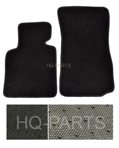 New 2 Pieces Black Nylon Carpet Floor Mats Fit For 2003-2008 BMW E85 E86 Z4