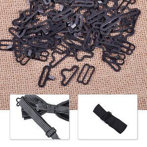 50x-Sangle-noeud-papillon-Bow-Tie-Strap-Cravat-Clips-attache-crochet-fixation