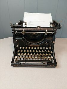 Antique Underwood Standard #5 Typewriter, Tested and Working, Free Shipping!