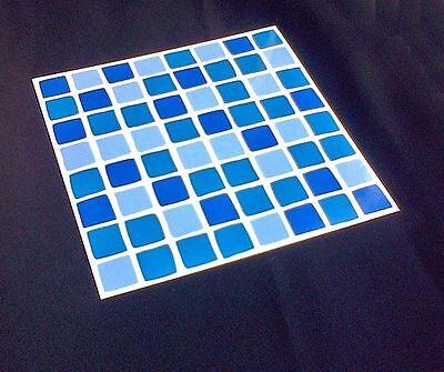 Self Adhesive Mosaic Tile Transfers Stickers Bathroom