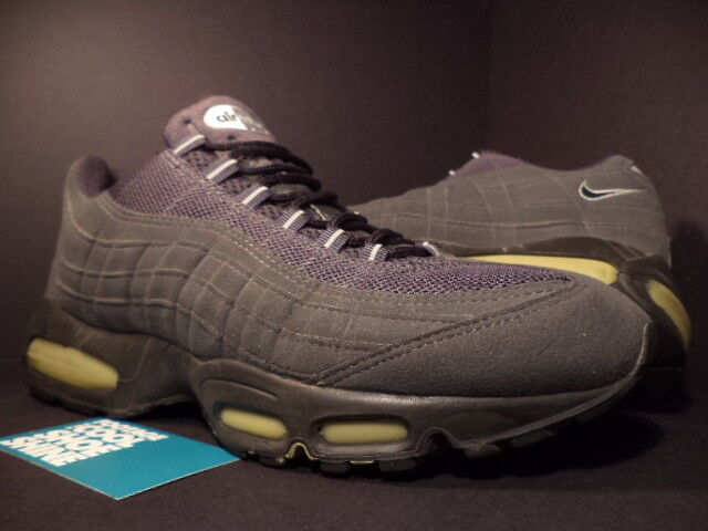 timeless design 5805e d1a0c 2000 Nike Air Max 95 1995 Charcoal Dark Cool Wolf Grey Black White  604116-002 11