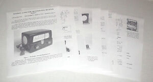 Details about ONE-TUBE HOMEBREW RADIO KIT PLANS – SPEAKER OUTPUT