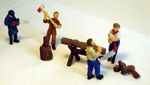 Forrester-Equipment-F208p-PAINTED-OO-Scale-Langley-Models-People-Figures-1-76