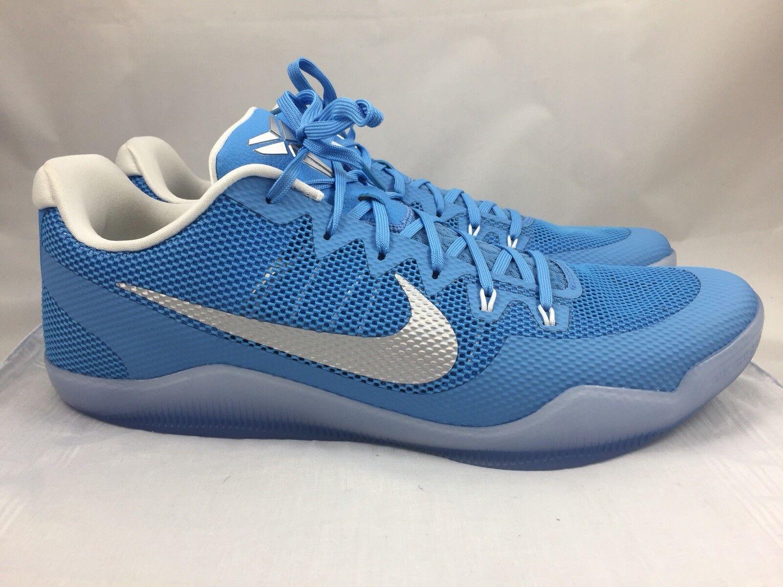Nike Kobe XI 11 para hombre Carolina Baloncesto Azul 856485-443 Calzado De Baloncesto Carolina 3264ac