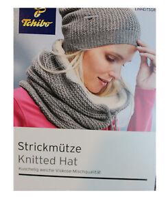 100% Spitzenqualität süß billig Schatz als seltenes Gut Details zu TCM Tchibo Damen Strickmütze Wintermütze Mütze Beanie grau
