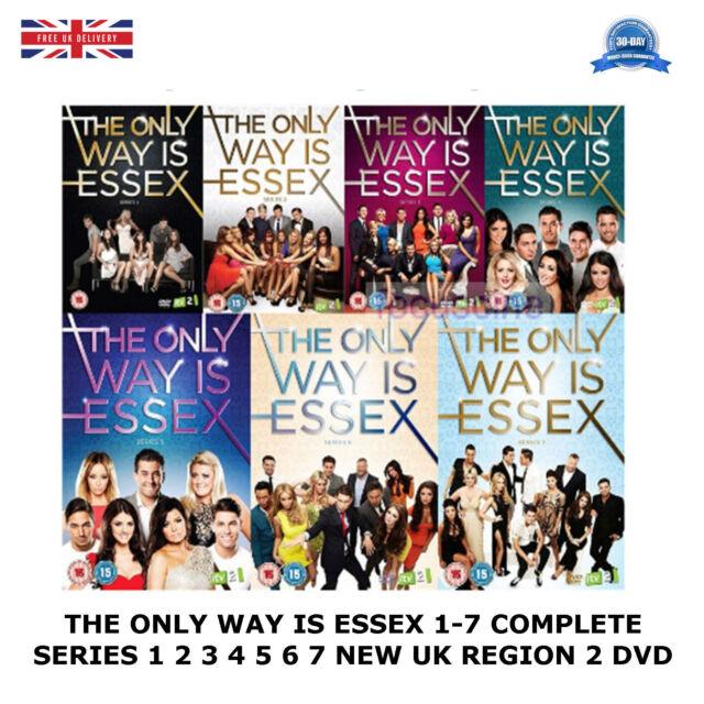 Die einzige Möglichkeit ist Essex Series 1-7 Complete Seasons 1 2 3 4 5 6 7 NEU Region 2 DVD