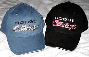 Dodge-Challenger-Mopar-Baseball-Cap-Hat-2-colours-Great-Gift-R-T-Hellcat