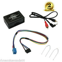 Aux Adaptor 3.5mm Jack Rd3 Car Stereo Mp3 For Peugeot 206 307 406 607 + Ct22uv01