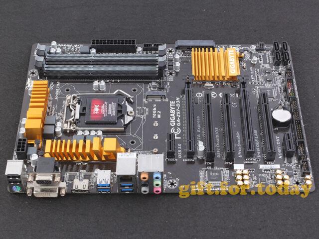 Gigabyte Technology Ga Z97 D3h Intel Motherboard For Sale Online Ebay