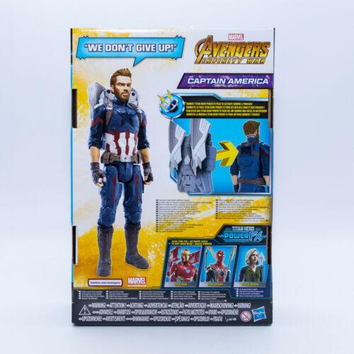 HASBRO e0607 Marvel Avengers INFINTY era TITAN HERO SERIE CAPITAN AMERICA Personaggio