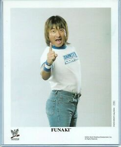 WWE-FUNAKI-P-923-OFFICIAL-LICENSED-AUTHENTIC-ORIGINAL-8X10-PROMO-PHOTO-VERY-RARE