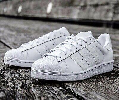 Adidas Superstar Foundation en cuir blanc B27136 Homme