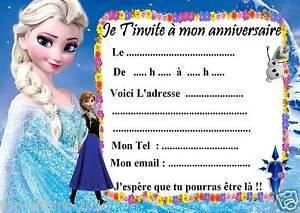 5 cartes invitation anniversaire disney la reine des neiges 03 d 5 cartes invitation anniversaire disney la reine des stopboris Images