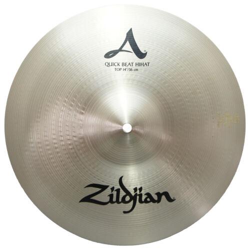 Zildjian A0151 14 Quick Beat Hi-Hat Top Cast Bronze Finish High Pitch - Used