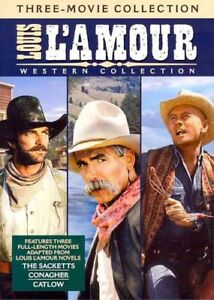 Louis-L-039-Amour-Western-Collection-New-DVD-Full-Frame-Subtitled