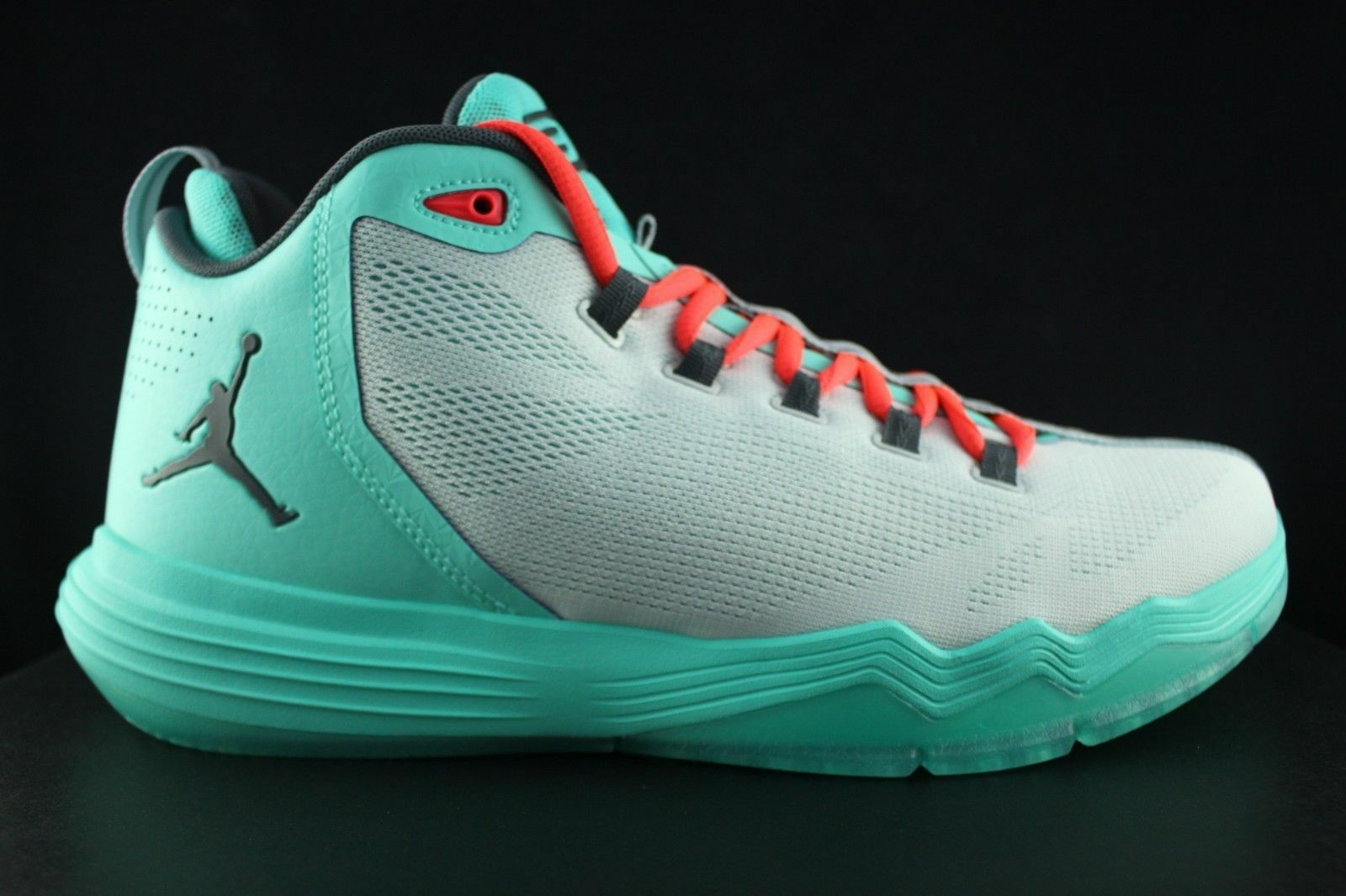 7209be14e4e657 Nike Jordan Cp3.ix AE Mens 833909-016 Turquoise Infrared Basketball ...