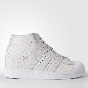 reputable site f38ad 42e97 Image is loading Adidas-Originals-Superstar-Up-S76406-Ostrich-Rita-Ora-