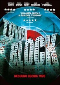 TOWER-BLOCK-Nessuno-Uscira-Vivo-DVD-Nuovo-Sigillato-RN