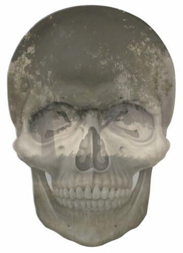 Gothique Crâne double exposition Matin Brumeux Vue Autocollant Mural Papier peint papier peint 43