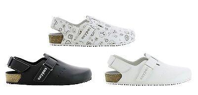Oxypas oxysport 'Bianca ligero, transpirable Zapatos de enfermería