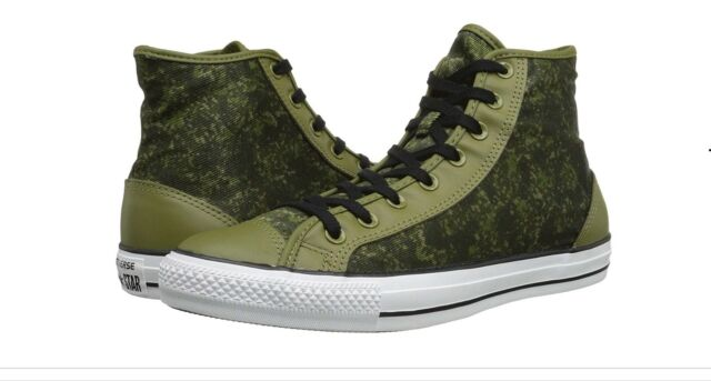 3d656430c75ae3 Converse Chuck Taylor Overlay Hi Cactus Green Basketball Shoes 146460C Size  11
