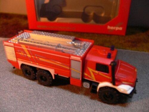 1//87 Herpa MB Zetros Feuerwehr 049986 SONDERPREIS 39 € statt 49 €