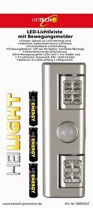 HEITECH LED Lichtleiste Nachtlicht Treppenlicht mit