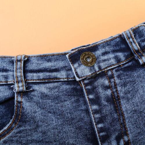 3pcs Handsome Baby Boys Suit Short Sleeve Shirt+Denim Pants+Scarf Kids Clothes