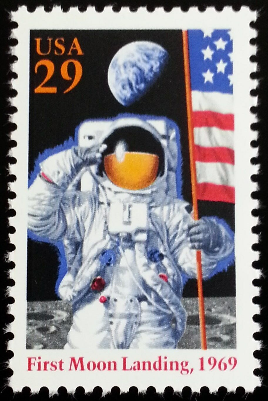 1994 29c First Moon Landing, 25th Anniversary Scott 284