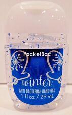 BATH & BODY WORKS WINTER POCKETBAC ANTI BACTERIAL HAND GEL NEW!
