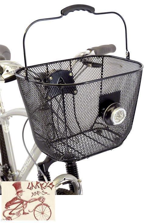 AXIOM Fresco Malla Dlx Manillar Delantero Para Bicicleta Cesta