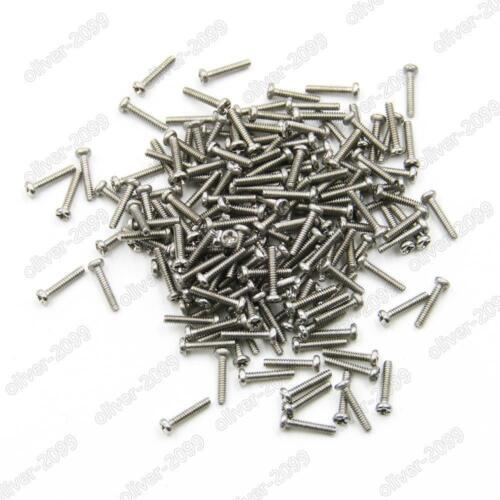 M1 M1.2 M1.4 M1.6 Stainless Steel Phillips Cross Pan Head Mini Micro Small Screw