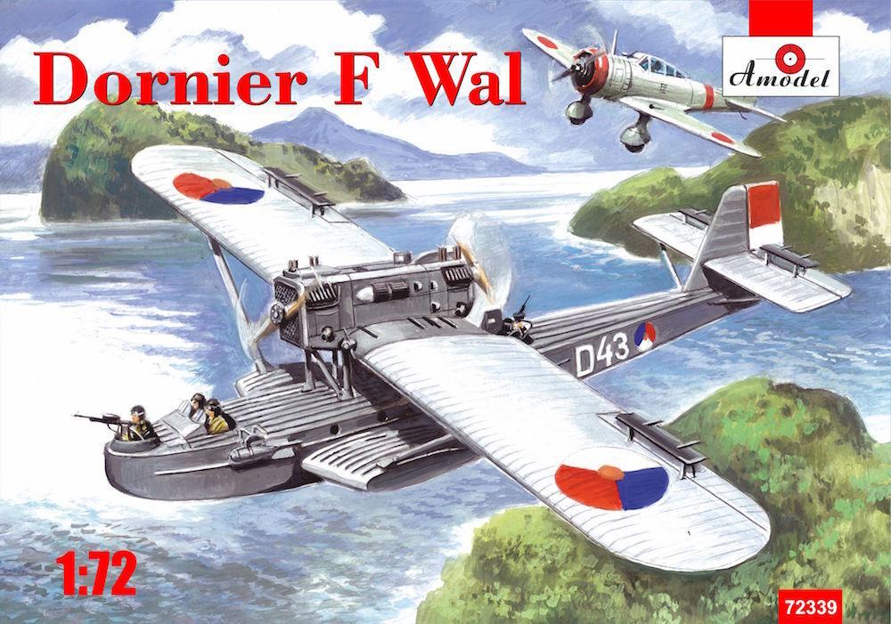 Amodel 1 72 Dornier F Wal Dutch