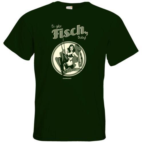 Getshirts-rahmenlos ® cadeaux-t-shirt-pêcher il y a poisson