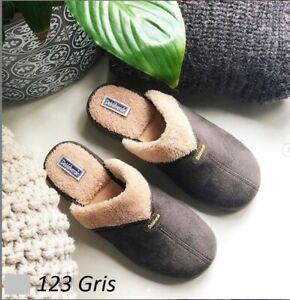 Ladies Scuffs -  DeValverde - 123 Gris  (Grey)
