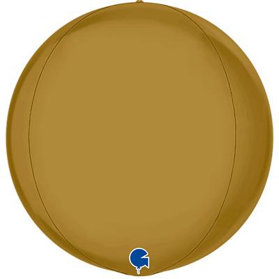 "Grabo Silver Globe Circular Shaped 4D Orbz 15/"" Foil Balloon Party Decoration"