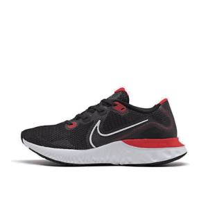 Men-039-s-Nike-Renew-Run-Running-Shoes-Black-White-University-Red-CK6357-005