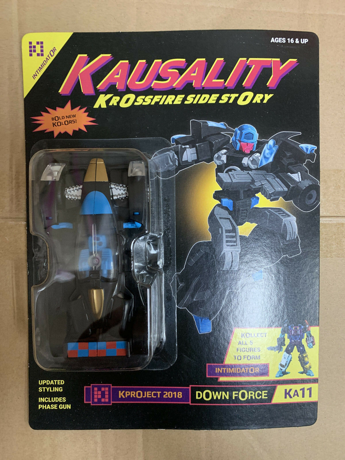 Transformers Fansproject Convention Kausality KA11 Down Force essiasor Dragstrip