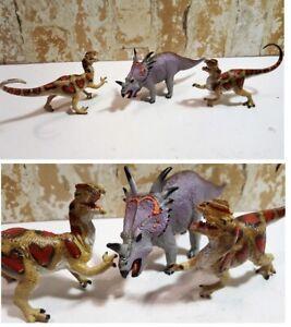 Dilophosaurus-amp-STYRACOSAURUS-Dinosaur-Carnegie-Museum-Safari-Ltd-Great-Detail