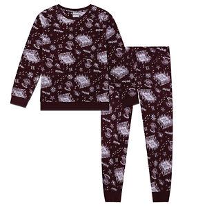 Harry-Potter-Marauder-039-s-Map-Official-Gift-Boxed-Girls-Boys-Kids-Pyjamas