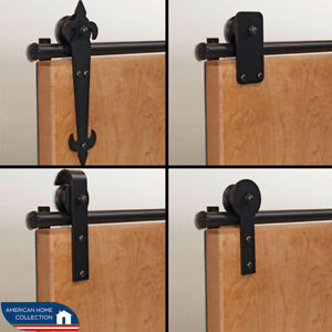American Home Rolling Barn Door Hardware Kits For 32 Or 36 Door Openings Ebay