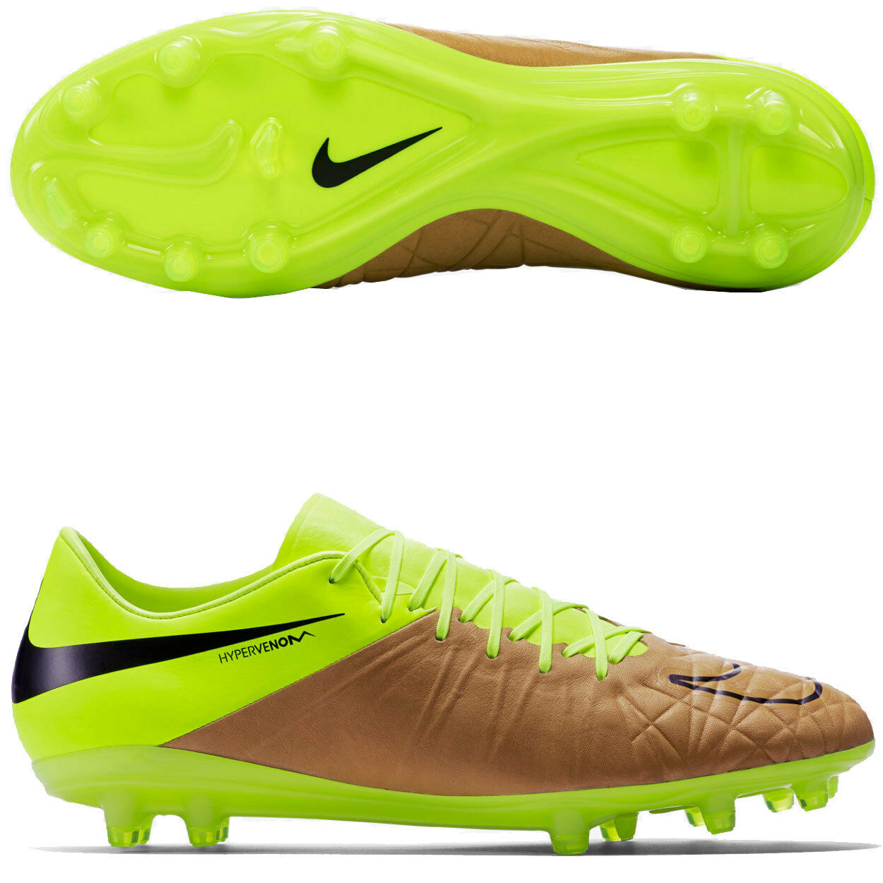 a5a0765f1c4 NIKE HYPERVENOM PHINISH FG SOCCER CLEATS TECH CRAFT SIZE 7 NEW (759980-707)