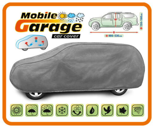 Heavy Duty Car Cover Breathable for MITSUBISHI L200 with hard top PICK-UP TRUCK