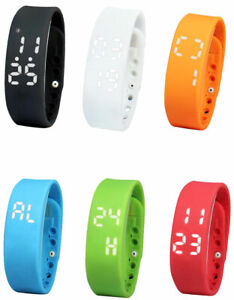 Adult Kids Fitness Sports Activity Tracker Sleep Monitor Smart Watch iOS Android