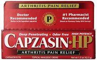 Capzasin Hp Arthritis Muscle Pain Relief Cream 1.5 Oz on sale