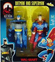 The Batman Adventures__batman & Superman Action Figures_exclusive 2 Pack_mib