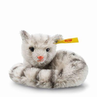 Steiff Moggy Mini Cat EAN 033551 Mohair Stuffed Animal Kitten Toy Gift New