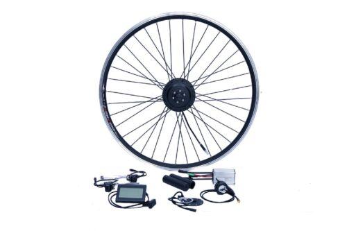 """E-Bike Umbausatz 28/"""" Vorderrrad FWD 36V 250W Disc Wasserfest IP65 1-Kabel"""