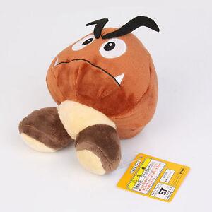 Nintendo Super Mario Brown Goomba Plush Stuffed Toy ...